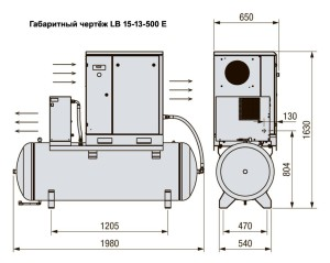 LB 15-13/500 E